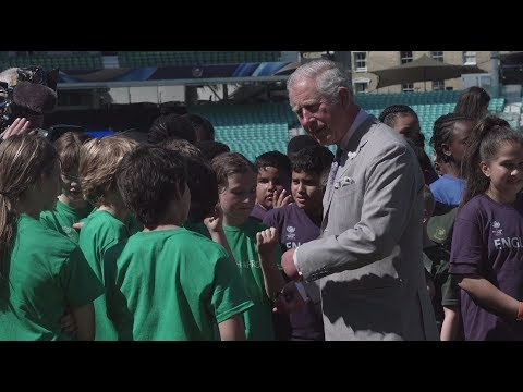 HRH The Prince of Wales visits The Oval