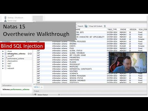 Understanding Blind SQL Injection - Natas15 - Overthewire.org - Walkthrough