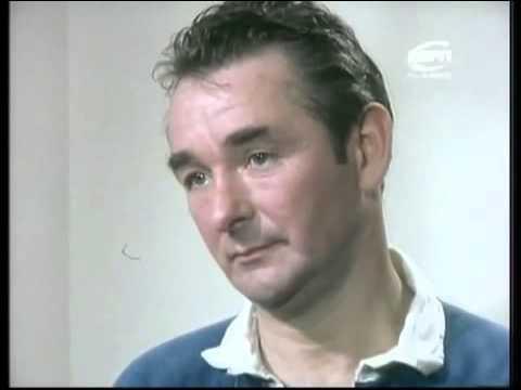 John Motson interviewing Brian Clough