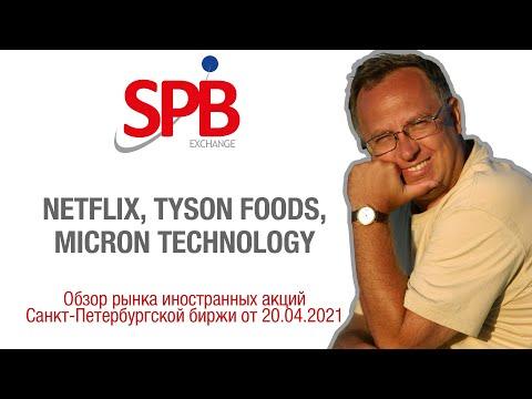 Обзор рынка иностранных акций: Netflix, Tyson Foods, Micron Technology