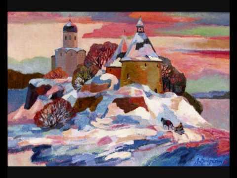 3 Russian Songs (Rachmaninoff) iii. Powder and Paint