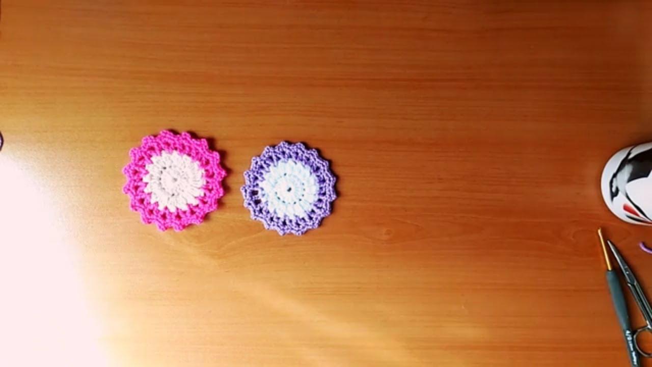 Düğmelerden Bardak Altlığı Yapımı
