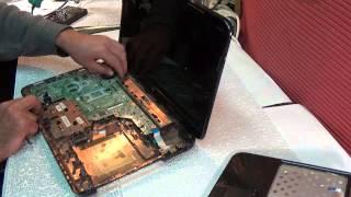 Разборка, чистка ноутбука HP Pavilion G6<