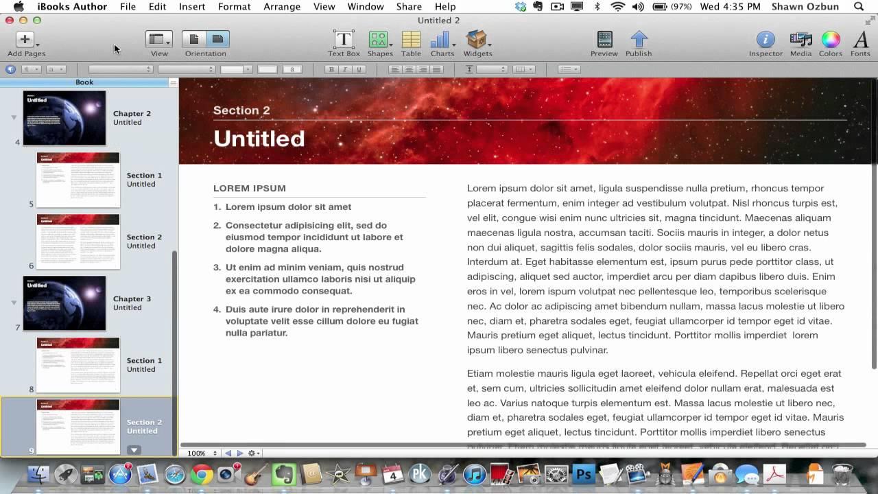 IBOOKS AUTHOR EXPORT PDF VIDEO PDF
