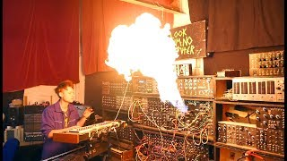 A Flamethrower Synth Module