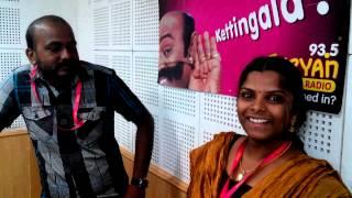 Suryan FM RJ srinivas & RJ Thooriga inviting all