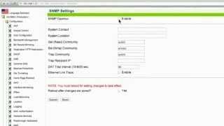 Etkinleştirme AG - SNMP
