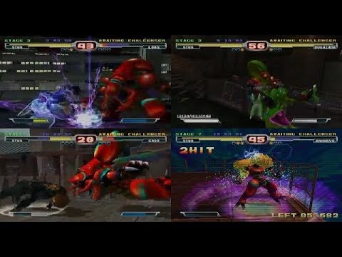 Bloody Roar 3: Arcade mode - Gameplay part 04_Stun Playthrough - Difficulty 8 (mdX)
