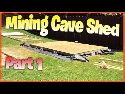 Crypto Mining Cave Shed And Electrical Upgrades - Part 1 | Small Mining Rig Displays