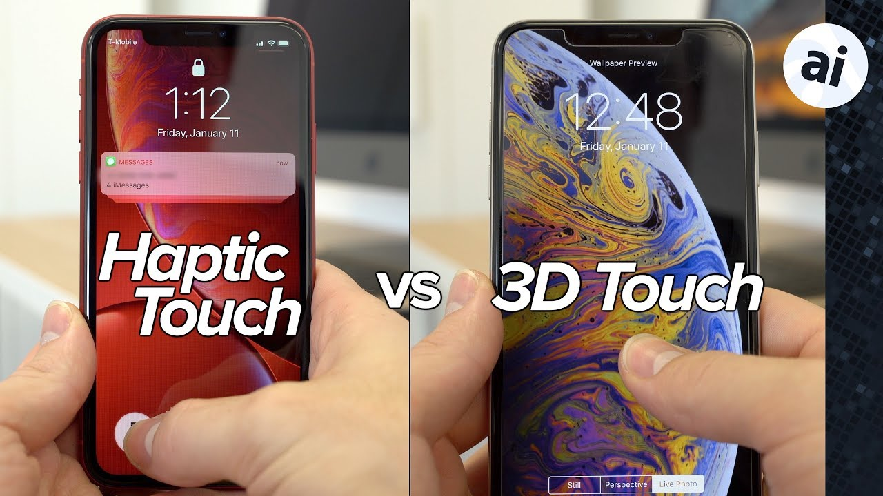 What Haptic Touch on the iPhone XR can do, and how it differs from