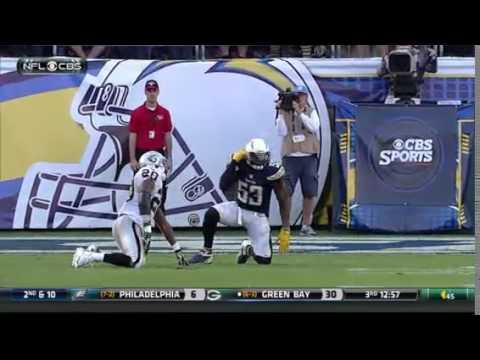 Oakland Raiders Darren McFadden Hit San Diego Chargers
