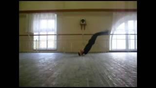 мужские трюки в народном танце
