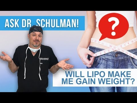 Weight gain after liposuction Does fat come back after liposuction? Ask Dr Schulman