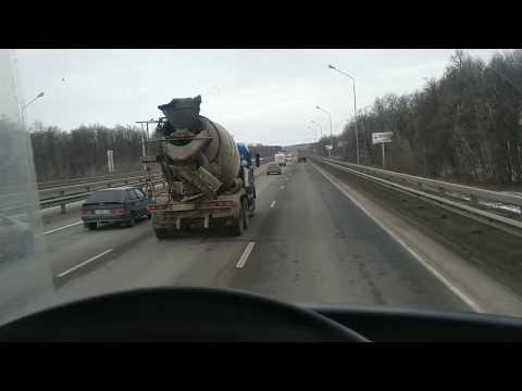 237. Дальнобой /// Рейс Ялуторовск - Липецк. #2 /// Маленькая поломка рефа...