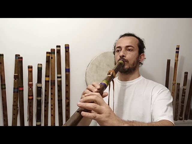 Native Flute River Cane F# 432