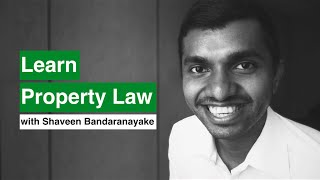 Learn Property Law!