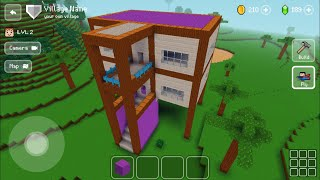 Block Craft 3D : Building Simulator Games For Free Gameplay #311 (iOS & Android) | Beautiful Home