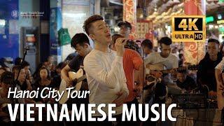 Enjoy Vietnamese music in Old Quarter of Hanoi weekend night 2