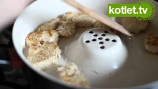 Recenzja patelni ceramicznej z kominem Delimano - KOTLET.TV