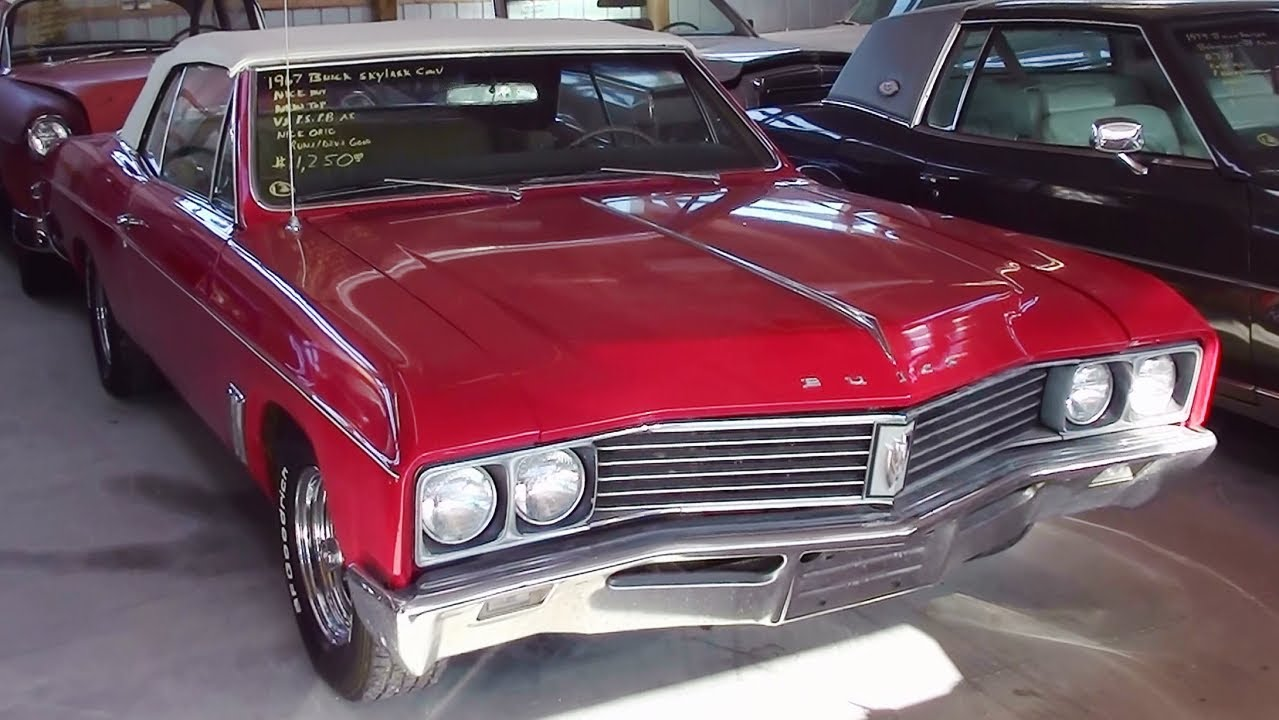 1967 Buick Skylark Convertible - YouTube