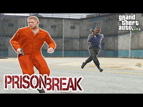 PRISON BREAK AND ESCAPE (GTA 5 Mods Gameplay) GRAND THEFT AUTO 5