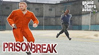 PRISON BREAK AND ESCAPE (GTA 5 Mods Gameplay) GRAND THEFT AUTO 5