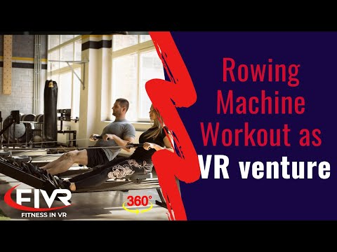 VR Rowing Workout Virtual Rower Scenery 360 (part 4)