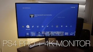 Want a 4k monitor for gaming? i think the lg 27ud68-w is an amazing ps4 pro!