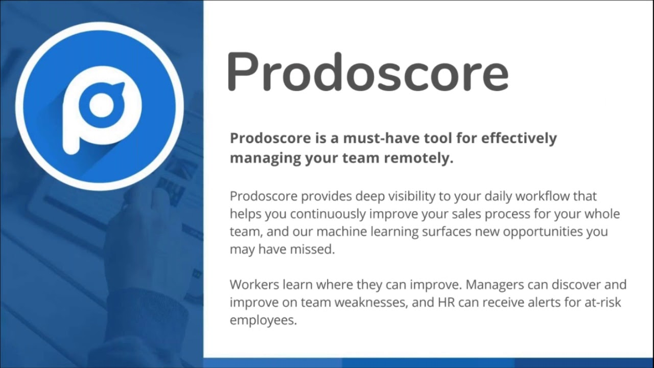 How to Cut Employee Attrition by 50% Prodoscore Demo