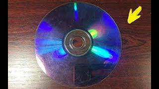 НЕ ВЫБРАСЫВАЙТЕ CD ДИСКИ