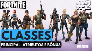 FORTNITE-TODAS AS CLASSES DE HERÓIS-PORTUGUÊS-XBOX ONE E PS4
