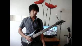 Maximum The Hormone - Zetsubou Billy Guitar Cover Death Note Ending 2.