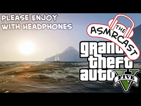 ASMR GTA V - Sailing A Yacht & Scuba Diving! (Whispering Ear To Ear & Trigger Assortment)