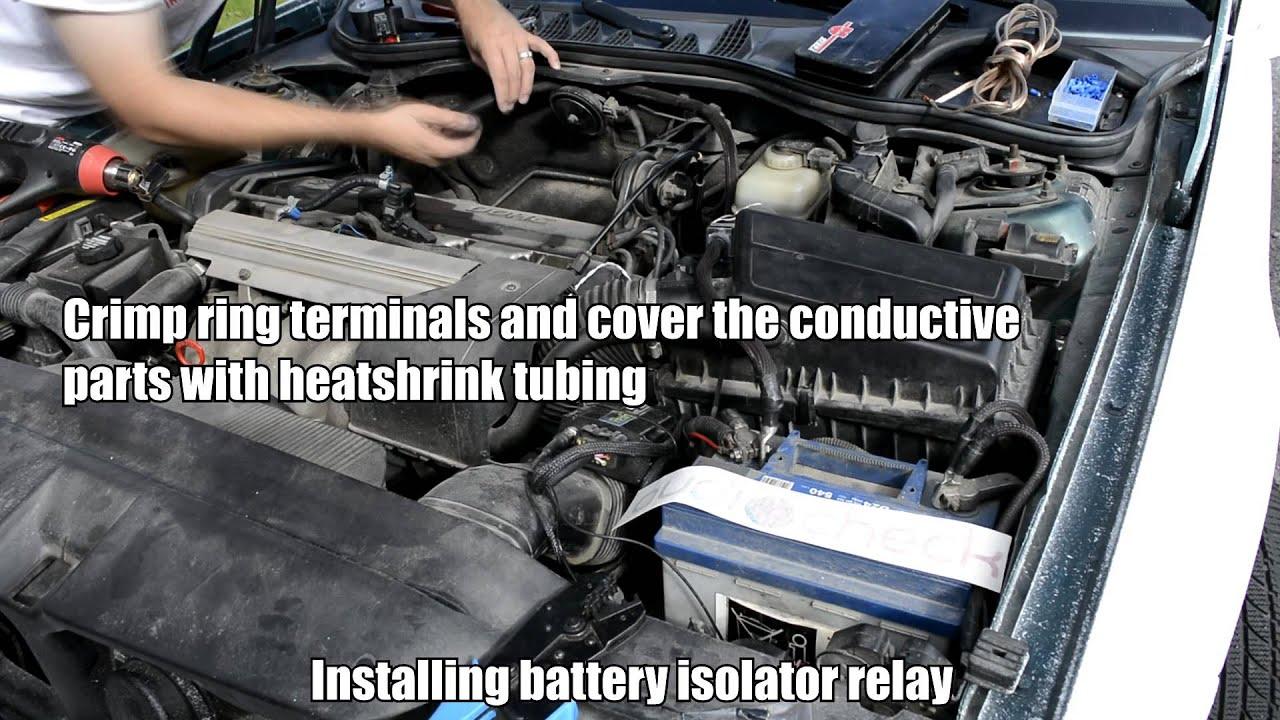 medium resolution of dual battery charging system diagram battery isolator relay motorhome battery wiring diagram battery