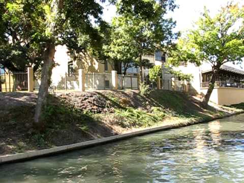 River Walk across from the San Antonio Museum of Art