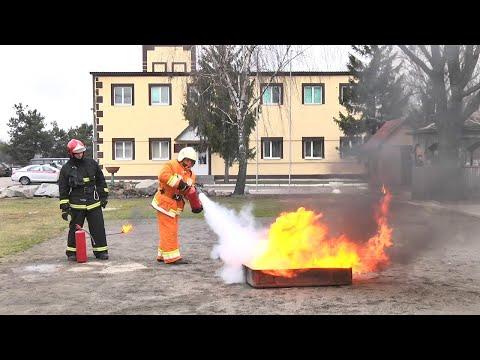 В Пинске и Пинском районе проходит акция МЧС «Безопасность – в каждый дом!»