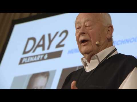 Day II Plenary 6: Humans First – Technology Second | Charles Handy