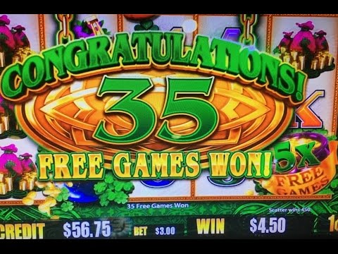 Big Win*Thanksgiving Part 2 (2 of 3)★Wild Lepre'Coins Slot ...