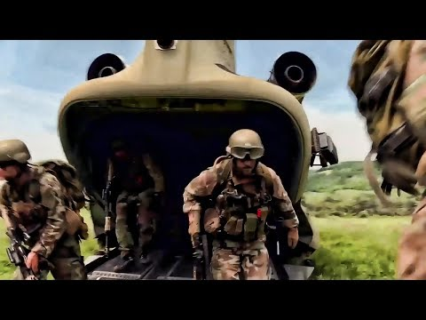 Royal Dutch Marines Air Assault Exercise With US Helicopters