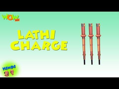 Lathi Charge - Motu Patlu in Hindi WITH ENGLISH, SPANISH & FRENCH SUBTITLES thumbnail