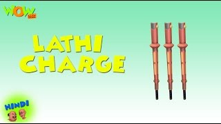 Lathi Charge - Motu Patlu in Hindi WITH ENGLISH, SPANISH & FRENCH SUBTITLES