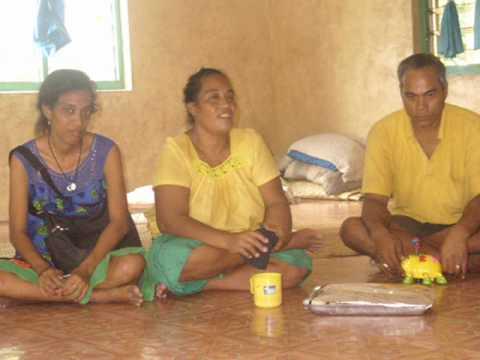 Tangiria`s family(Kiribati)