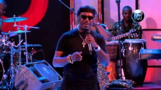 Gyedu Blay Ambuley performs at Akosua Agyapong at 25 concert