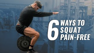How To Squat With Low Back Pain (6 Must Try Exercises)