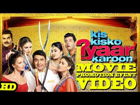 """Kis Kisko Pyaar Karoon"" Promotion Events Full Video 
