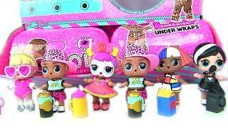Куклы лол Мультик! Мальчики и Девочки Лол из Большой Коробки Сюрпризов! Lol Surprise Видео для детей