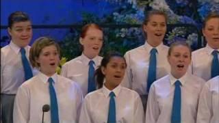 Highcliffe Junior Choir Youth Section at Llangollen 2009