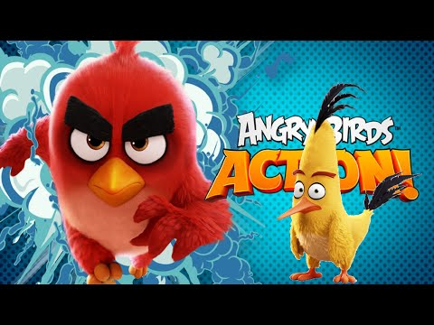 Angry Birds Action Level 31 - 40 Walkthrough
