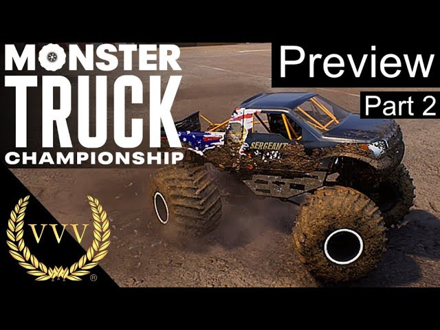 Monster Truck Championship - Preview Part 2