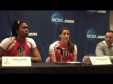 Liberty Volleyball 2012 NCAA Tournament  First Round Quotes